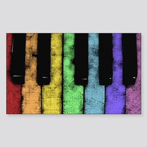 PIANO Sticker (Rectangle)
